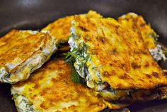 3-Layer 'French Toast' Matzah with Dill Cream Cheese