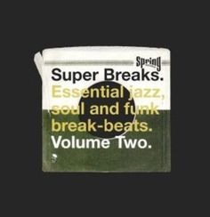Super Breaks, Vol. 2: Essential Jazz, Soul and Funk Breakbeats [LP] - Vinyl