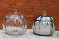 DIY Mirrored Glass Pumpkin Tutorial cover