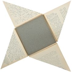 Un Libro Illegible Quadrato, Book designed by Bruno Munari | From a unique collection of antique and modern books at https://www.1stdibs.com/furniture/more-furniture-collectibles/books/