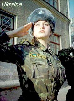 Ukraine Army Woman