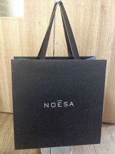 BRAND PAPER BAG: [NOESA] Germany Cosmetics Brand Paper Bag