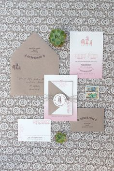 Magnolia Rouge: Mexican Fiesta inspired wedding invitations