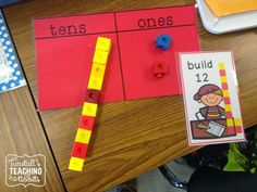 Beginning Place Value. Great ideas for teaching place value concept and the 'teen' numbers.