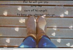 He cares for you!