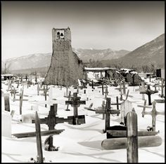 Brandon Allen Photography: Pueblos of New Mexico - Remenants of Church and Burial Grounds 2007