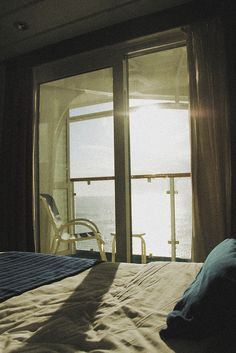 My happy place <3 A cruise ship balcony