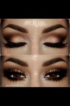 May be for wedding or a special occasion makeup <3