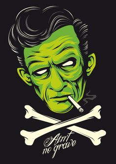 Cash, Ain´t no grave on Behance