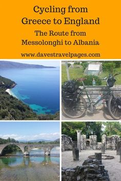 Cycling in Greece from the town of Messolonghi to Ksamil: photos, vlogs, and route maps inside!