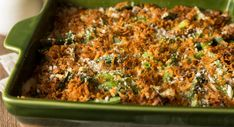 Green Bean Casserole recipe from the Lazy Keto Application for Android and iOS. Veggie Recipes, Low Carb Recipes, Healthy Recipes, Veggie Food, Caramelized Bacon, Green Bean Casserole, Keto Casserole, Orange Recipes, Healthy Meals For Kids