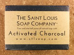 Activated Charcoal Soap – Vegan Soap, Fragrance Free Soap, All Natural Soap, Hand Made Soap, Charcoal Soap