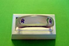 Vintage Hand Painted Bangle Bracelet (Item 1206)