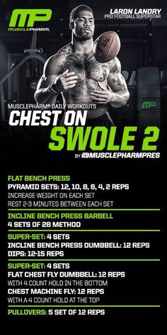 MusclePharm Chest Swole 2