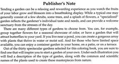 The Flower Garden Coloring Book Ѿ Welcome to Dover Publications