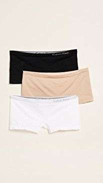 New Calvin Klein Underwear Pure Seamless Boy Shorts 3 Pack online. Perfect on the Amanda Uprichard Clothing from top store. Sku yeqd44431fsmr49327
