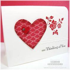 Fancy Fan Valentine by stamptek - Cards and Paper Crafts at Splitcoaststampers