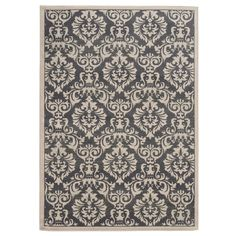 Found it at Wayfair - Davenport Charcoal/Ivory Area Rug