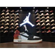 AJ1 OFF-WHITE x Air Jordan 1 Retro High OG Men Basketball Shoes White Black Orange New Jordans Shoes, Air Jordan Shoes, Air Jordans, Off White Shoes, Black And Grey, Grey Top, Jordan 13, Basketball Shoes, Nike Men