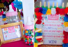Mexican Baby Showers Games ~ This mexican inspired fiesta is the ultimate baby shower bash