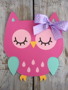 Owl Decorations par Twila Leininger sur Etsy
