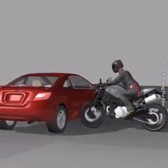 Bike Discover Life Savior Its the best creative invention ever. New Technology Gadgets, Car Gadgets, Cool Technology, Motorcycle Design, Motorcycle Bike, Bike Design, Kombi Motorhome, Creative Inventions, Futuristic Motorcycle