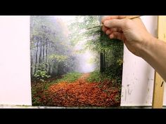 #60 How to paint a fall Landscape   Oil Painting   Michael James Smith - YouTube