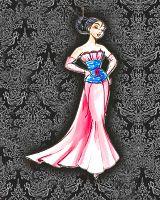 Disney High Fashion - Mulan! Love her dress!