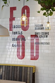 DF/Mexico - flavours of a memorable road trip inspire Brick Lane diner experiment. Cafe Bar, Cafe Shop, Cafe Restaurant, Restaurant Design, Diy Design, Cafe Design, Store Design, Burger Bar, Df Mexico