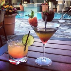 Have you stopped by to enjoy our daily at our Pool Bar & Cafe? Join us for colorful & cocktails. Alcoholic Drinks, Cocktails, Beverly Wilshire, Pool Bar, Thirsty Thursday, Four Seasons Hotel, Happy Hour, Vodka, Sunday Funday