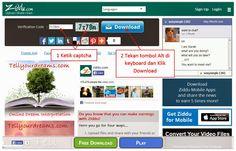 Cara Daftar dan Download File di Ziddu