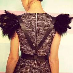 Handcrafted leather harness. 45$  Портупея из натуральной кожи и перьями ручной работы.Спинка.  #DIY #boho #accessories #harness #leather #feather #belt #ykt #Yakutsk #sakha #Якутск #портупеи #портупеиякутск