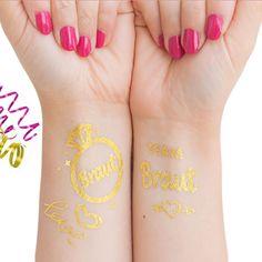 Temporäre Klebetattoos Tattoo Set Junggesellinnenabschied Jga in Feierlichkeiten / Anlässe > Hochzeit > Tattoos Junggesellinnenabschied auf Oblique Unique jetzt kaufen.