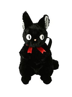 Costume Props Beautiful Gray Cat Bus Cartoon Plush Coin Wallets Cute Jiji Cat Pet Jiji Black Cat Purse Mobile Phone Bag Drawstring Pocket Plush Bag Driving A Roaring Trade Novelty & Special Use