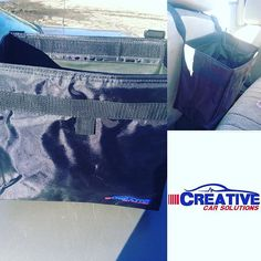 Creative Car Solutions' Trash bag has changed the way I keep my car.  It is an ample size (not to large and not too small) and easily accessible. It fits perfectly around the narrow part of the headrest of either front seat. It can face toward the back seat or can easily be swung around to the front if you get the sudden urge to clean your car.  The bag is SUPER sturdy. I generally do not put liquids or food in it but it has a leak-proof cleanable liner if needed. The seams seem to be…
