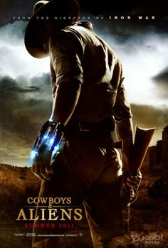 Cowboys vs Aliens. It wasn't as bad as I thought it'd be.