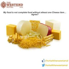 My food is not complete food without atleast one Cheeze items… Agree?