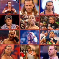 Shawn Michaels. Best collage ever!