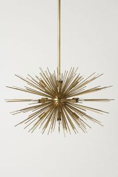 satellite chandelier #Anthropologie #PinToWin