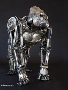 Sculptures, (mechanical) on Pinterest