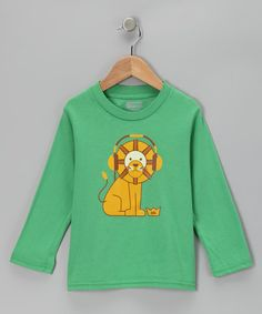 Take a look at this Grass Lion Organic Long-Sleeve Tee - Toddler & Kids by All Good Living Kids on #zulily today!