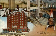 Hotel Cherokee And Cafe W P Wilson Manager Cleveland Tn