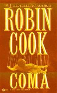 One of many Robin Cook books I have read.