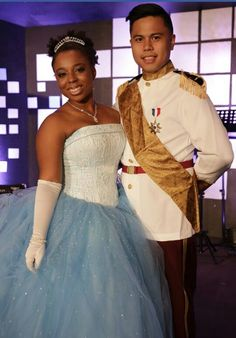 Cinderella  and Prince Charming  #disneycostumes #dreamscometrue #halloween #interracialcouples