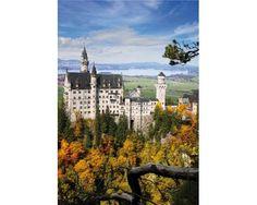 Puzzle D-Toys Vista del Castillo de Neuschwanstein de 1000 Pieza