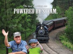 The 1880 Train in the Black Hills of South Dakota. Definitely on my todo list this summer!