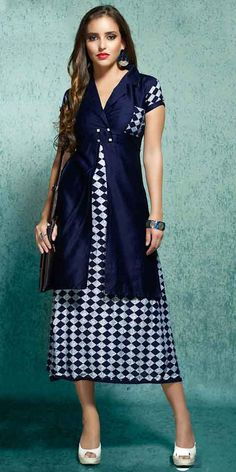 04f4acf1a5d3 Buy exclusive Indo Western Style kurtis and trendy Indo Western Style tunic  tops at NalluCollection.