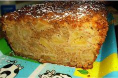 Receitas práticas de culinária: Bolo de Maçã - delicioso! Easter Recipes, Apple Recipes, My Recipes, Sweet Recipes, Portuguese Desserts, Banana Bread, French Toast, Sweet Tooth, Deserts