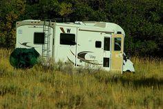 Winnebago View Class C motorhome, Mesa Verde National Park, Colorado, September 15, 2009 (pinned by haw-creek.com)