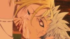 So sad moment the seven deadly sins ban and Elaine